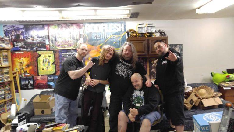 Metallic Onslaught crew with Joseph Wyatt, Nathan Bobbett, Seriah Azkath, Randy Smith and Rick Horton